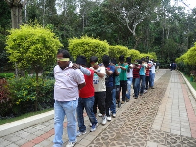 Outbound Training - Blind Trust Walk
