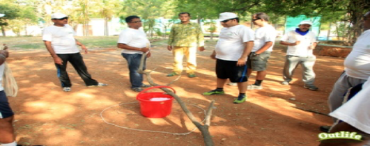 Toxix Waste Outbound Team Building Activity